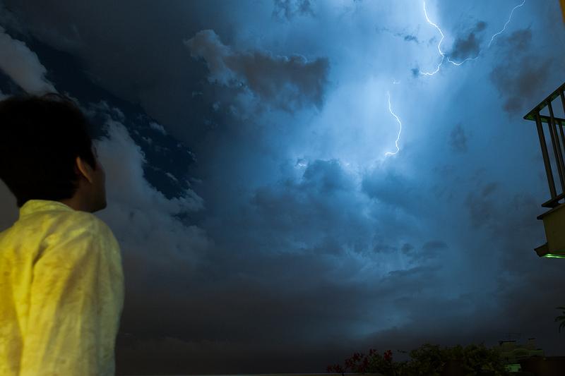éclair orage 8 juin 2014