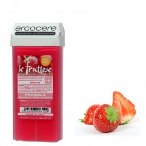 Une cartouche de cire parfum fraise