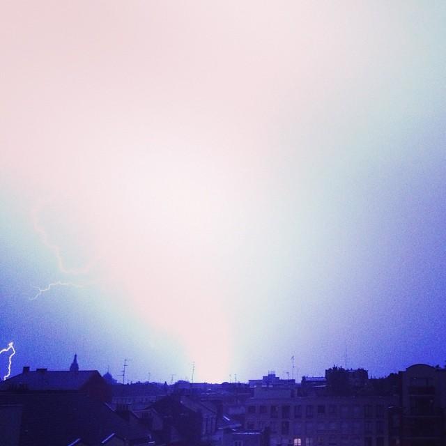 orage éclair 9 juin 2014