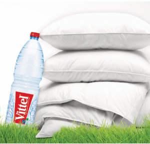 recyclage-bouteilles-vittel-couettes-oreillers-dodo