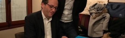 Signature de la convention collective du portage salarial