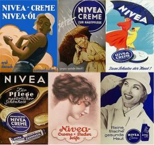 Vieilles publicités pour NIVEA Creme