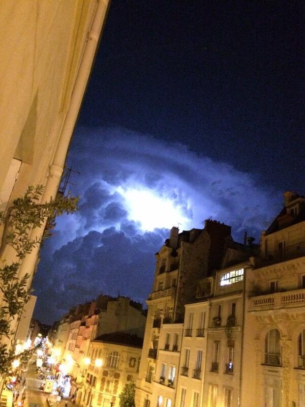 Orage foudre 8 juin 2014
